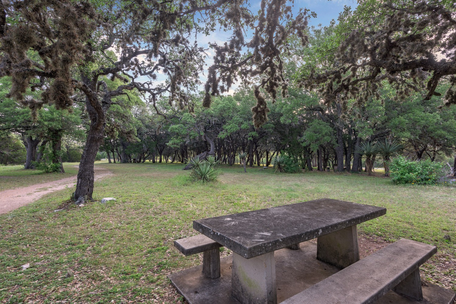 Longhorn Cavern State Park Picnic Area